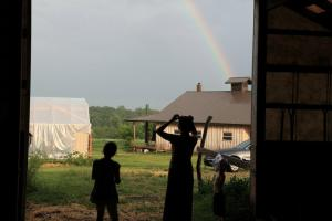 amish jill kids rainbow