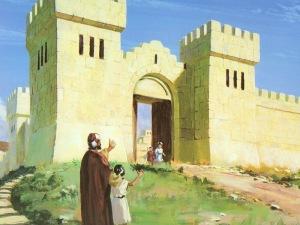 Nehemiah finishes wall