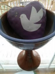 communion cup heart