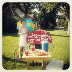 On Lemonade Stands and Being Still: Reflections from My Front Porch