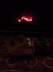books and coffee