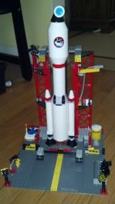 lego rocket
