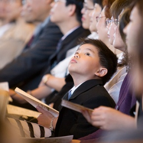 Kids in worship: The other problem
