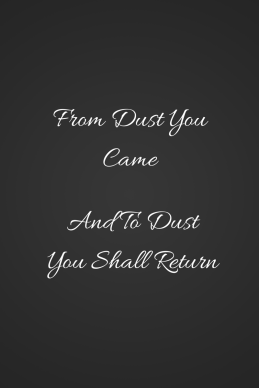 From Dust you came (1)
