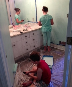 Summer Boredom, Fresh Paint, and New Lessons inParenting