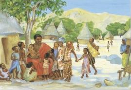 Jesus welcomes the children - Mark 10:13-16