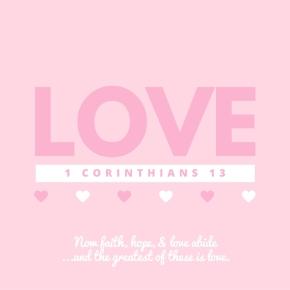 1 Corinthians 13: Loveis…