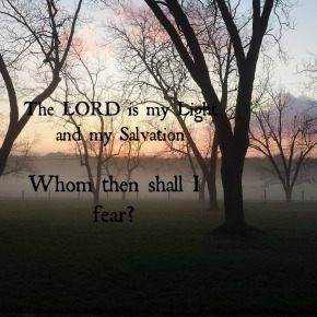 Psalm 27: Letting Go ofFear