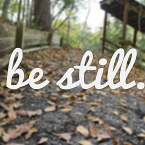 Be Still and Know: Reflections on Psalm 46